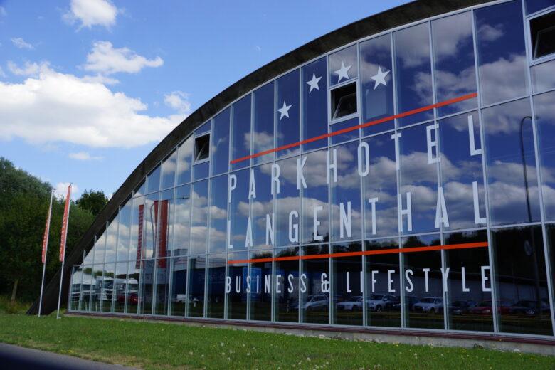 Parkhotel Langenthal_Fassaden Beschriftung