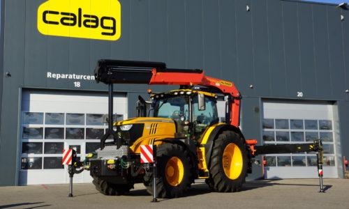 Traktor Kran Palfinger Calag