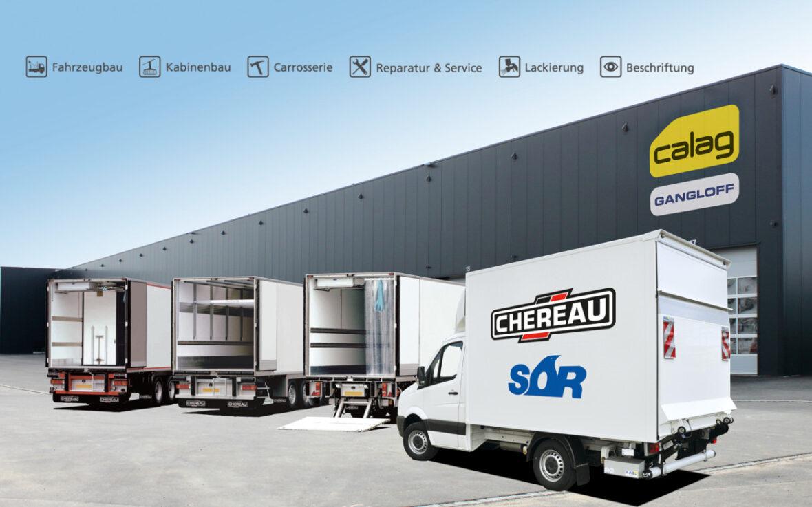 Calag Kühlfahrzeuge Chereau SOR