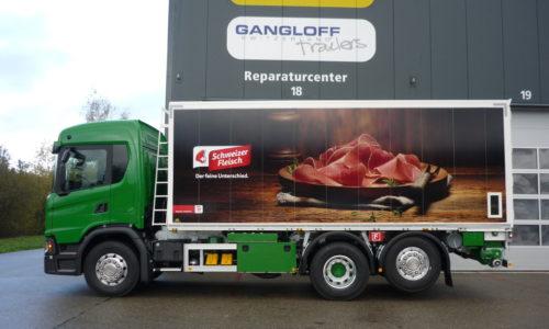Calag Losegutfahrzeug RKS Kippkasten für Futtermittel / Pellets / kleinmassiges Losegut