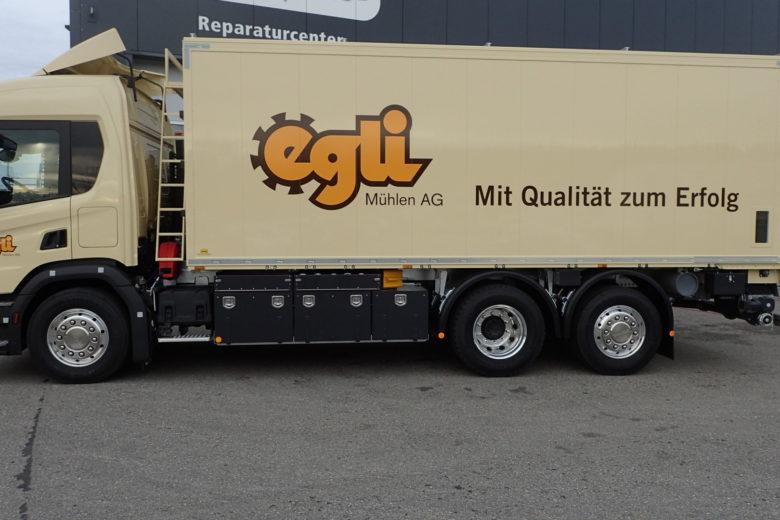 Aluminium Kippkasten für Loseguttransporte
