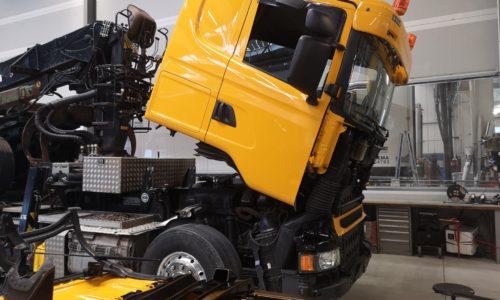 Lackierung LKW / Nutzfahrzeug