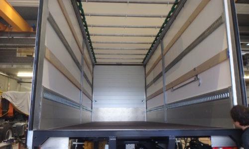 Brückenaufbau Fahrzeugbau