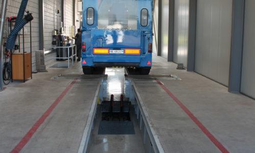 Maha Rollenbremsprüfstand für Nutzfahrzeuge und Landwirtschaftsfahrzeuge