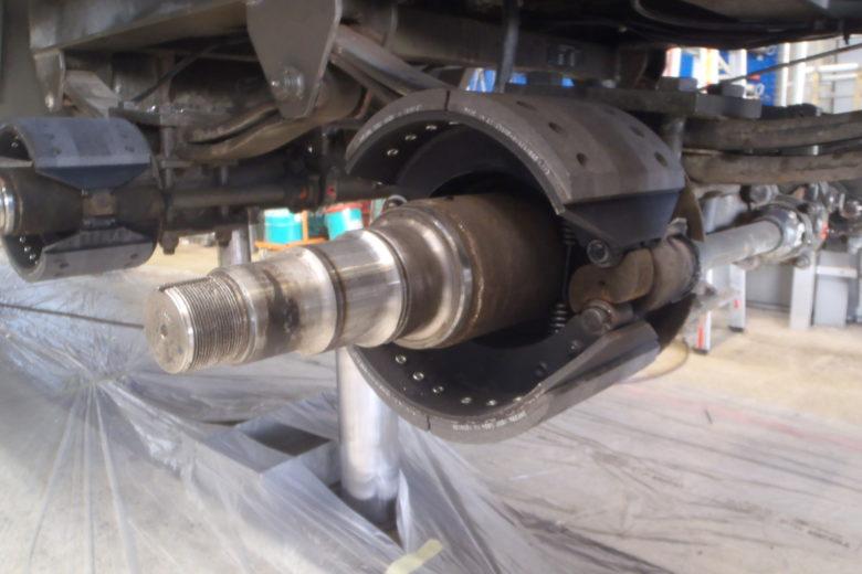 Reparatur Bremsen Anhänger