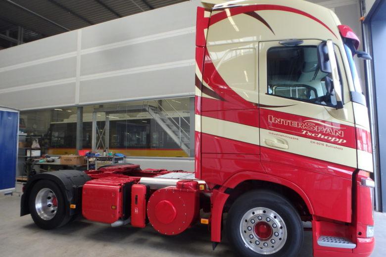Hydraulik für LKW