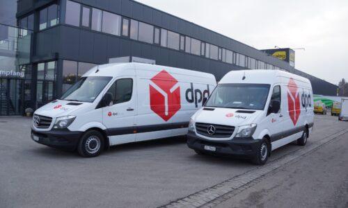 Flottenbeschriftung DPD