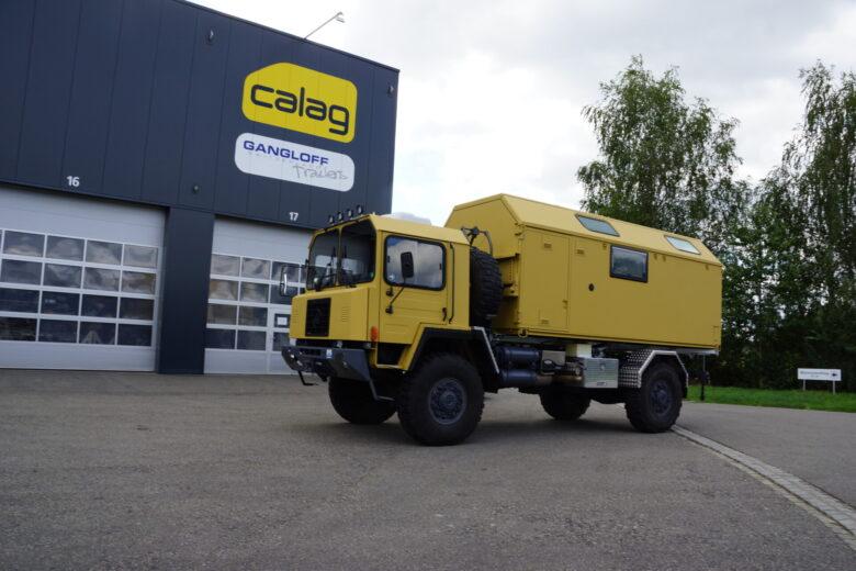 Calag Blog Saurer Expeditionsfahrzeug Front